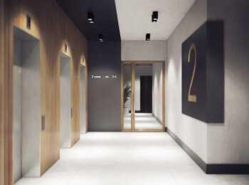 Отделка лифтовых пространств